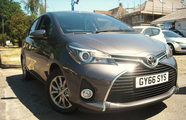 Toyota Yaris 1.3 Icon Automatic 5dr 2016 SOLD