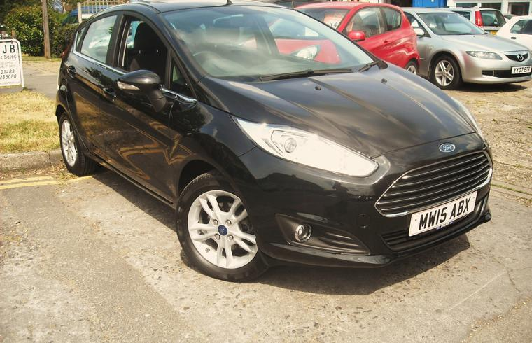 Ford Fiesta 1.25 Zetec 5 Door 2015 - New Arrival!