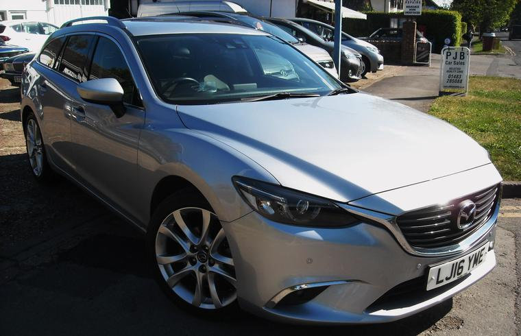 Mazda 6 2.0 Sport Nav Tourer 2016 SOLD