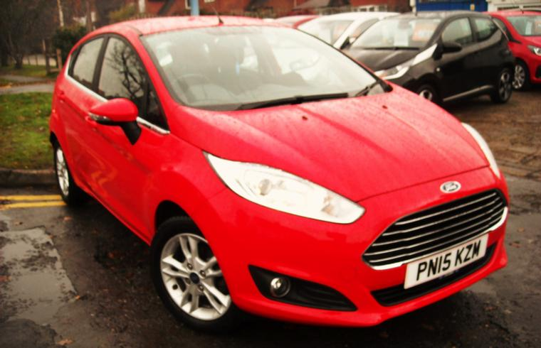 Ford Fiesta 1.25 Zetec 5 Door 2015 SOLD!
