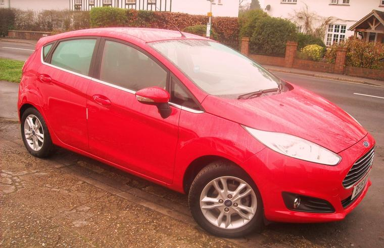 Ford Fiesta 1.25 Zetec 5 Door 2015 - New In! SOLD!
