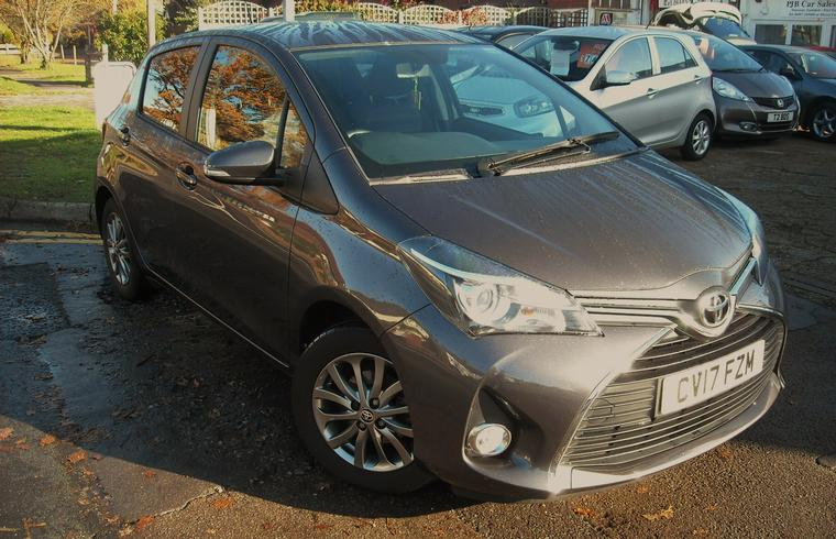 Toyota Yaris 1.3 Icon 5dr - 6 Speed Manual 2017 Sold!