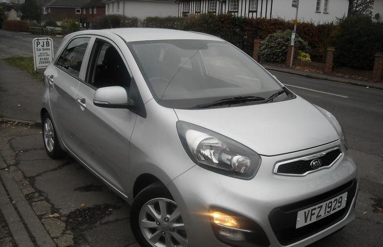 Kia Picanto 2 1.0 5dr 2014 reserved! SOLD