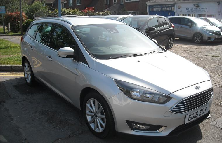 Ford Focus Titanium 125 PS Automatic Estate