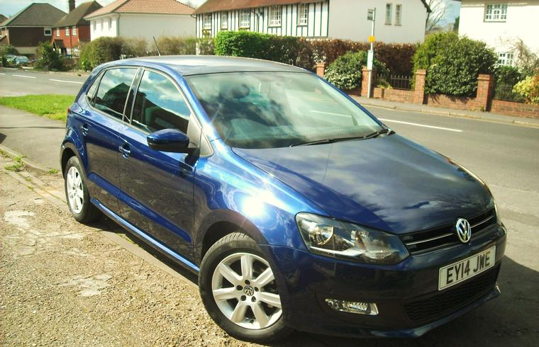 VW Polo 1.4 Match DSG Automatic 5dr